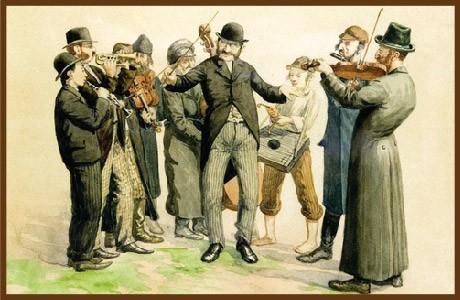 ההתחלה: הבדחן, הכליזמרים