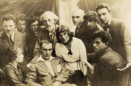 הלהקה הוילנאית – ווילנער טרופע (1916-1935)